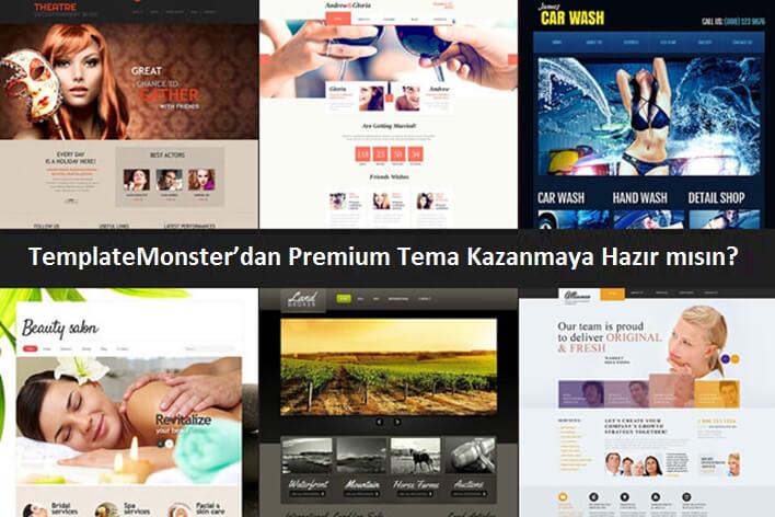 template monster cekilis - TemplateMonster'dan Premium Tema Kazanmaya Hazır mısın?